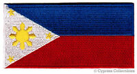 PHILIPPINES FLAG embroidered PATCH FILIPINO PINOY new ISLANDS IRON-ON applique