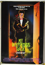MY BOYFRIEND'S BACK DS ROLLED ORIG 1SH MOVIE POSTER HORROR COMEDY (1993)