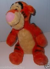 "DISNEY 10"" PLUSH STUFFED TIGGER  BASED ON WINNIE THE POOH WORKS BEAN BAG DOLL"