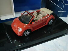AUTO ART 1/43 - VW BEETLE CABRIO SUNDOWN ORANGE