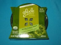 NIB GLADE SPICED CITRUS CHIC 1 - REFILLABLE HOLDER 1 - OIL SCENTED CANDLE 0.5 OZ