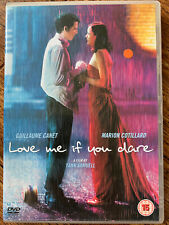 Love Me If You Dare DVD 2004 French Romantic Drama Move w/ Marion Cotillard