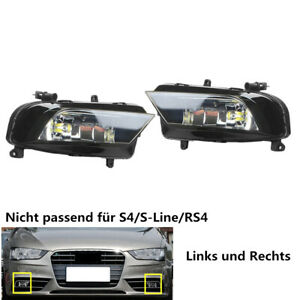 Fit Für AUDI A4 B8.5 8K 2013-2015 Frontstoßstange Nebelscheinwerfer LED Licht