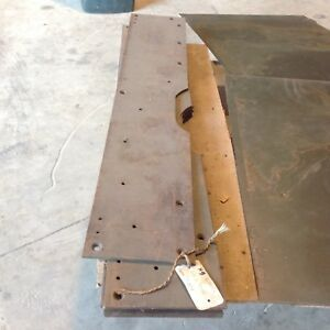 """HALF TRACK NOS """"H9"""" ARMOR PLATE BEHIND THE FENDER. ONLY $35.00"""
