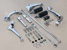 Chrome Forward Controls Kit Pegs Levers Linkages F Harley Sportster 883 1200