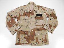 US Military Desert Storm 6 Color Chocolate Chip Camo Jacket Coat S Small Regular