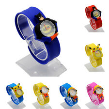 Cartoon slap watch, for children, cartoon snap wristwatch