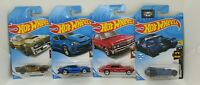 Hot Wheels model car Bundle (4 Cars) - Brand New & Sealed