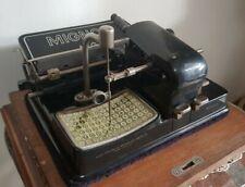 MIGNON AEG TYPEWRITER 1925 ANTICA MACCHINA DA SCRIVERE FUNZIONANTE E PERFETTA