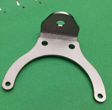 BSA Triumph Norton Lucas Altette 90 Deg. Mount Horn Bracket Stainless Steel