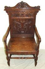 Armchairs Oak Victorian Antique Furniture