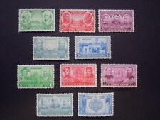 1936 Army/Navy Issues 785-794 MNH OG VF