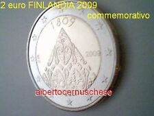 2 euro 2009 fdc UNC FINLANDIA Finlande Suomi Finland Finnland Финляндия 1809 200