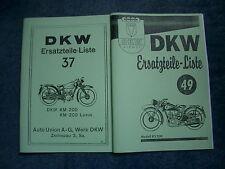 Ersatzteilliste DKW KM 200 & KS 200