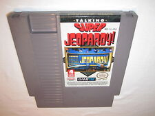 Super Jeopardy (Nintendo NES) Game Cartridge Excellent