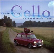 Various Artists - Most Relaxing Cello Album in World Ever NEW CD FREE SHIPPPING!