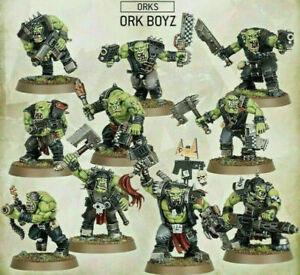 Warhammer 40k: 10x Ork Boyz New Combat Patrol