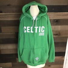 Nike Celtic Football Club Green Hoodie Sweater Tennets Size Xl