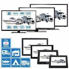 "7"" - 24"" TV's 12v 240v for Motorhomes, Caravans, Boats DVB-T2 HD Freeview & PVR"