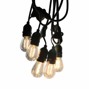 Outdoor Festoon String Lights Connectable LED Retro / Globe Bulbs Replaceable