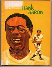 Hank Aaron 1974 Hardcover Book Paul J Deegan Atlanta Braves Babe Ruth