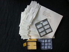 6 Staubsaugerbeutel geeignet Vorwerk Kobold 135 136 + Filterset + 6 Duft