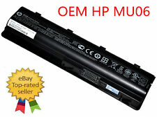 593553-001 593554-001 - New HP Original Battery - MU06 Genuine OEM 47WH