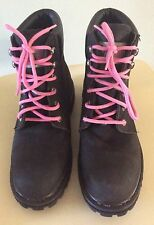 Safety Girl II Sheep Skin Lined Women's Work Boot Black Soft Toe 9M