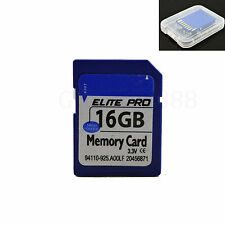 16GB 16G Flash SD SDHC Card Secure Digital Memory Card For Camera DSLR Tablet PC