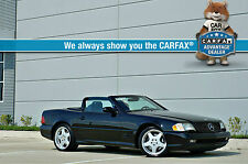 2001 Mercedes-Benz SL-Class Base Convertible 2-Door