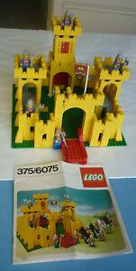 LEGO  - CHATEAU-FORT – 375 / 6075 – AVEC NOTICE - ANNÉE 1978