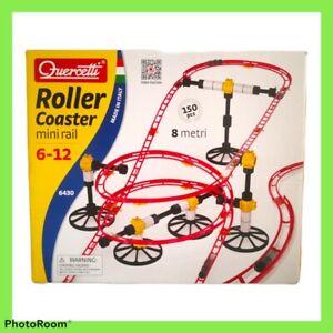 Quercetti Roller Coaster Mini Rail 6430 150 Pieces Complete