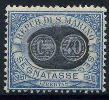 San Marino 1931 Sass. 41 MNH 100% Postage Due overprinted numbers
