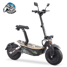 EV Ultra Electric Scooter / E - Scooter 2000W 48V / Adults  - Army Decal