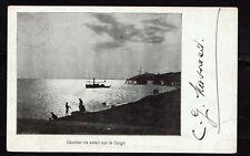 Belgian Congo 1904 Postcard of Le Congo beach