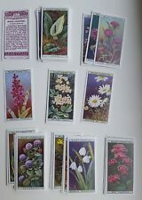 Card Collectors Society Full Repro Set of 50 Wills - Wild Flowers