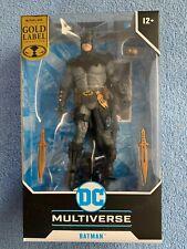 MIP 2021 McFARLANE TOYS DC MULTIVERSE  GOLD LABEL  BATMAN