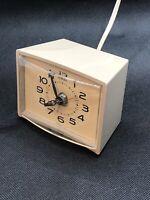 Vintage General Electric Company Lighted Dial Alarm Clock Model 7299 K Bedside