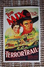 Terror Trail Lobby Card Movie Poster Western Tom Mix Tony Jr