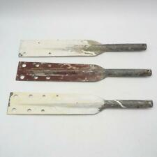 Vintage Lot of 3 Pittsburgh Automotive Finishes Paint Mixing Paddles