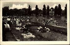 Teplice Teplitz Tschechien Česká Böhmen ~1950/60 koupaliště na Angru Schwimmbad