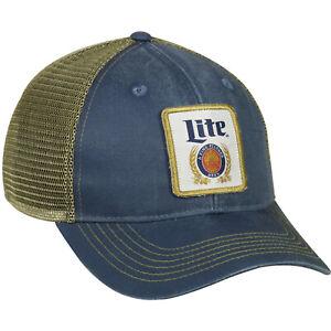 CAP - MILLER LITE MESH BACK HAT BEER-005