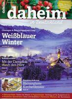 """Magazin """"daheim - in Deutschland"""",  Dezember 2015"""