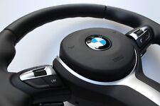 BMW F20 F22 F30 F32 F25 F15 MSPORT Steering Wheel With Shift Paddles + Airbag