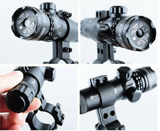 Adjustable Red Dot Laser Sight Scope Rifle Gun 20mm Rail Mount & Pressure Switch
