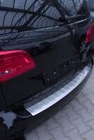 Edelstahl MATT Ladekantenschutz für VW Touran 1T3 Facelift ab 2010 mit Abkantung