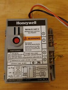 Honeywell R8184 G 1427 Intermittent Ignition Oil Primary Control