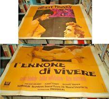 L'ERRORE DI VIVERE manifesto 4F originale 1968 ALBERT FINNEY