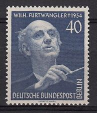 BERLINO BERLIN 1955 Festival Musicale Furtwangler 1 Val MNH** Unif 113 SG B125