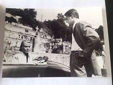 """GRACE KELLY, GARY GRANT, HITCHCOCK """" LA MAIN AU COLLET """"  PHOTO DE PRESSE 14x20"""